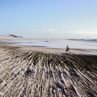 Saint-Adresse. La plage. Cratère. Tirage 2/3 et 3/3 disponible