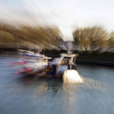 22-Trouville bateau de pêche. Tirages disponibles