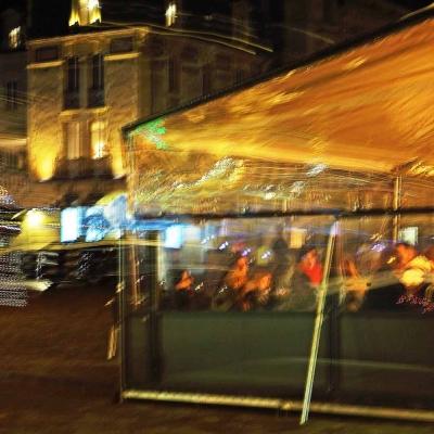 36-Caen. Soir de fête. TIRAGE 1/1 DISPONIBLE