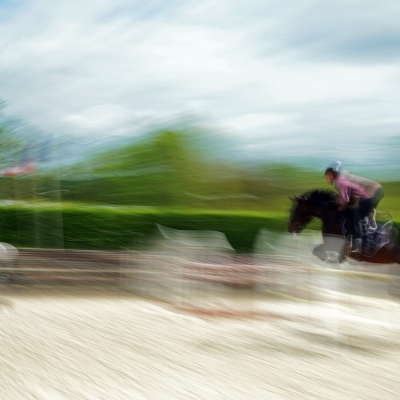 Deauville. Saut d'obstacle. Photo disponible