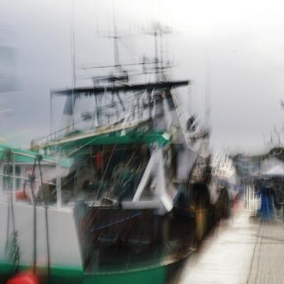 Port en Bessin. 2018 Le Goût du large (5). Format 40/60 cm. Tirages disponibles