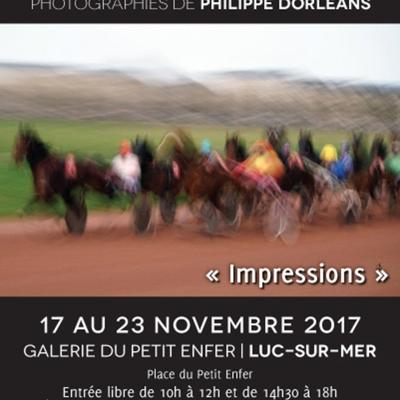 Exposition à Luc-sur-Mer