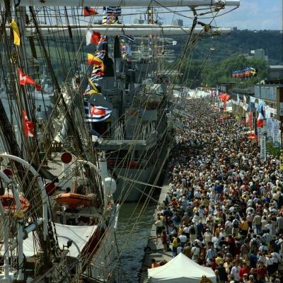 1999. Rouen. Armada du siècle (11 photos)