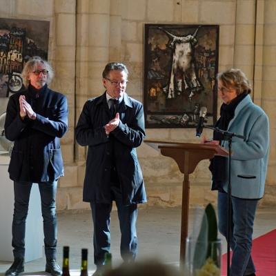 Exposition avec les Artistes en Normandie. Caen avril 2018