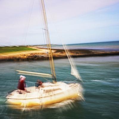 Saint-Vaast- la-Hougue. Promenade en bateau (1) tirages disponibles