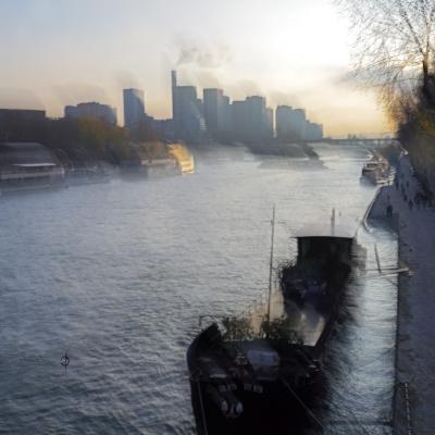 Paris. Bord de Seine. Le bateau (5)