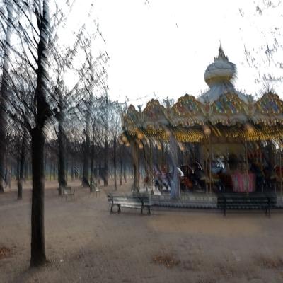 Paris. Carrousel jardin des Tuileries (1)