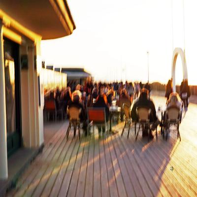 Deauville. Bar du soleil