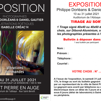 Flyer exposition